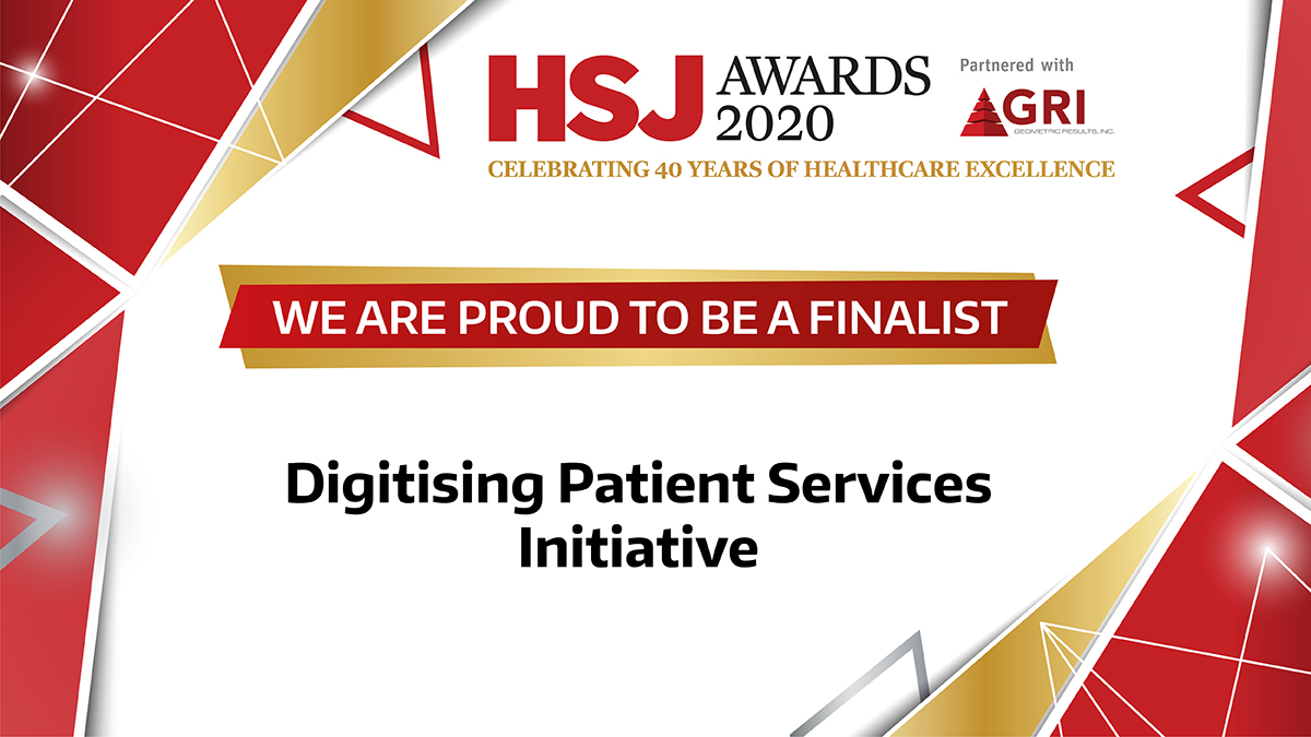 Connected Nottinghamshire's PKB-NHS App programme shortlisted for HSJ Awards 2020